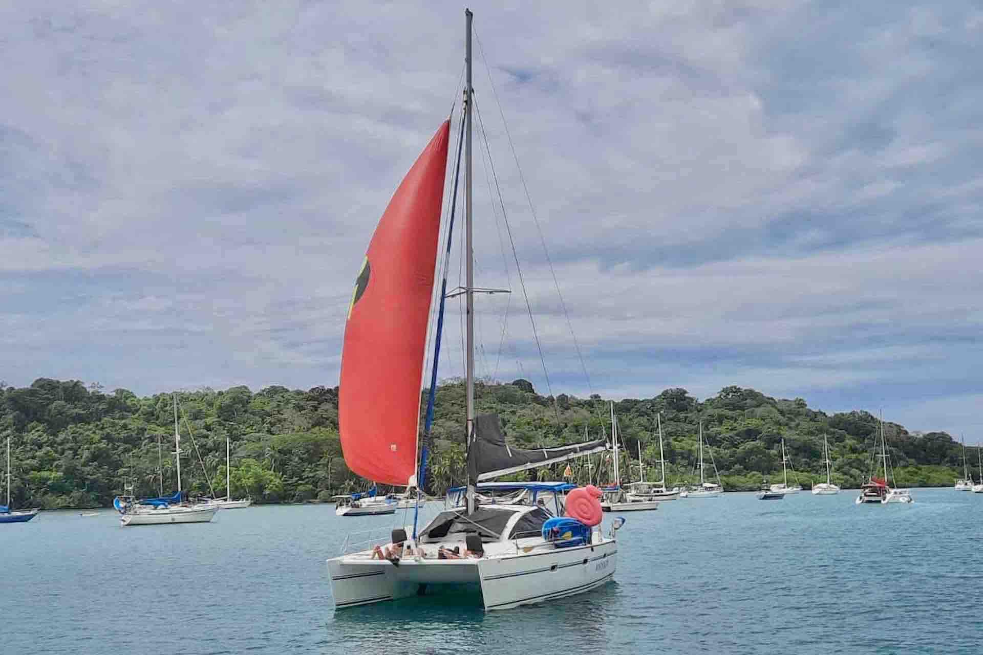 Panama Caribbean tour catamaran sailboat