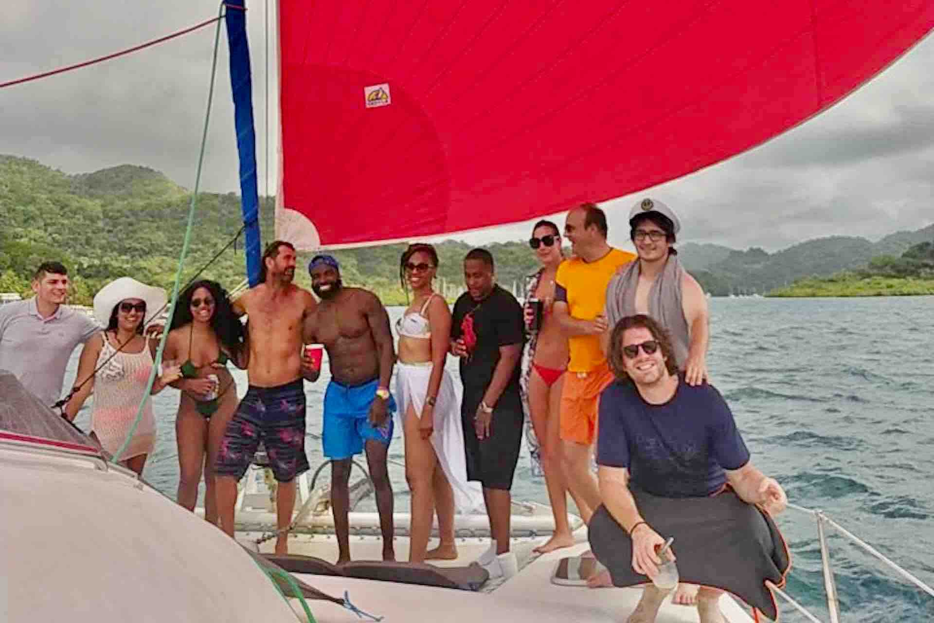 Panama Caribbean tour group photo