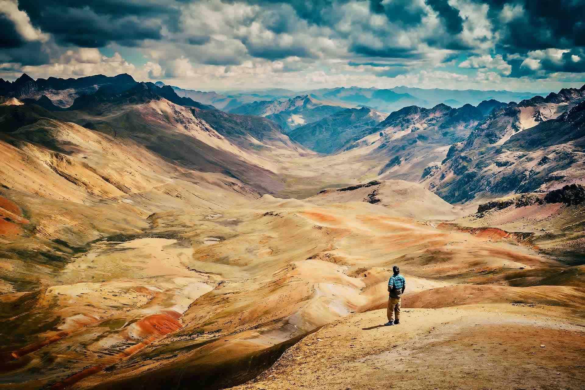 Peru mountain landscape