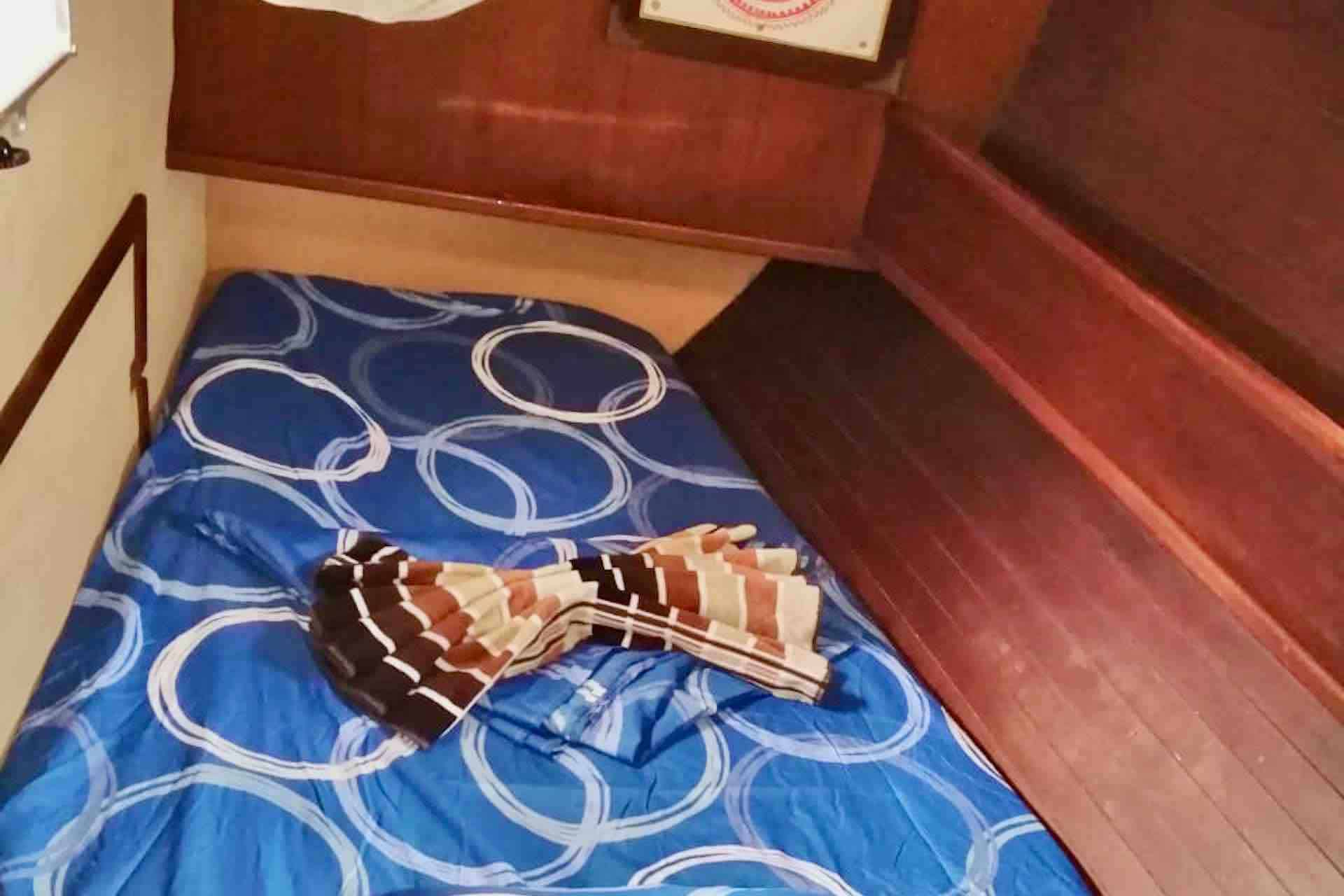Dike san blas sailboat bedroom