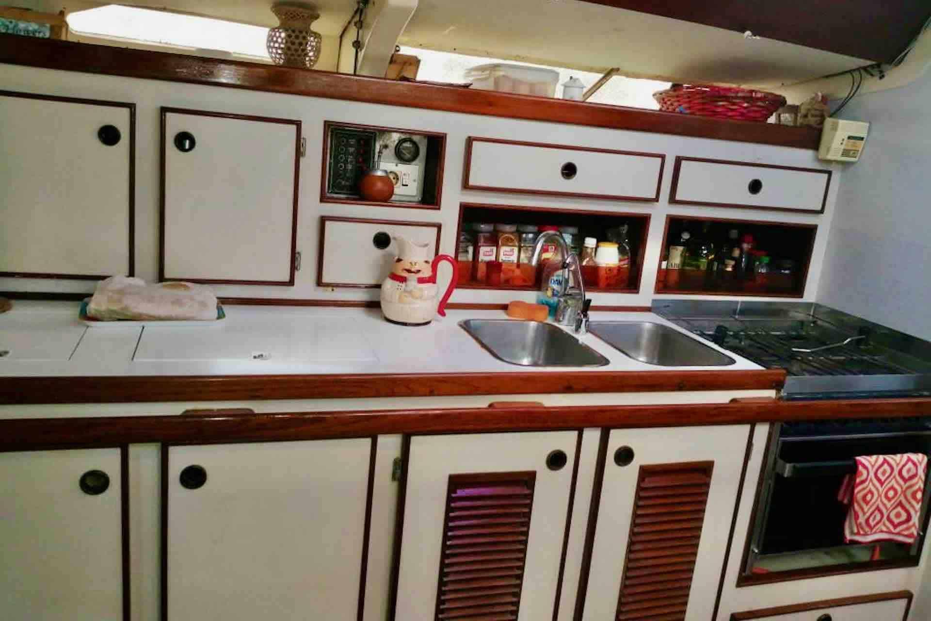 Dike SAn Blas kitchen