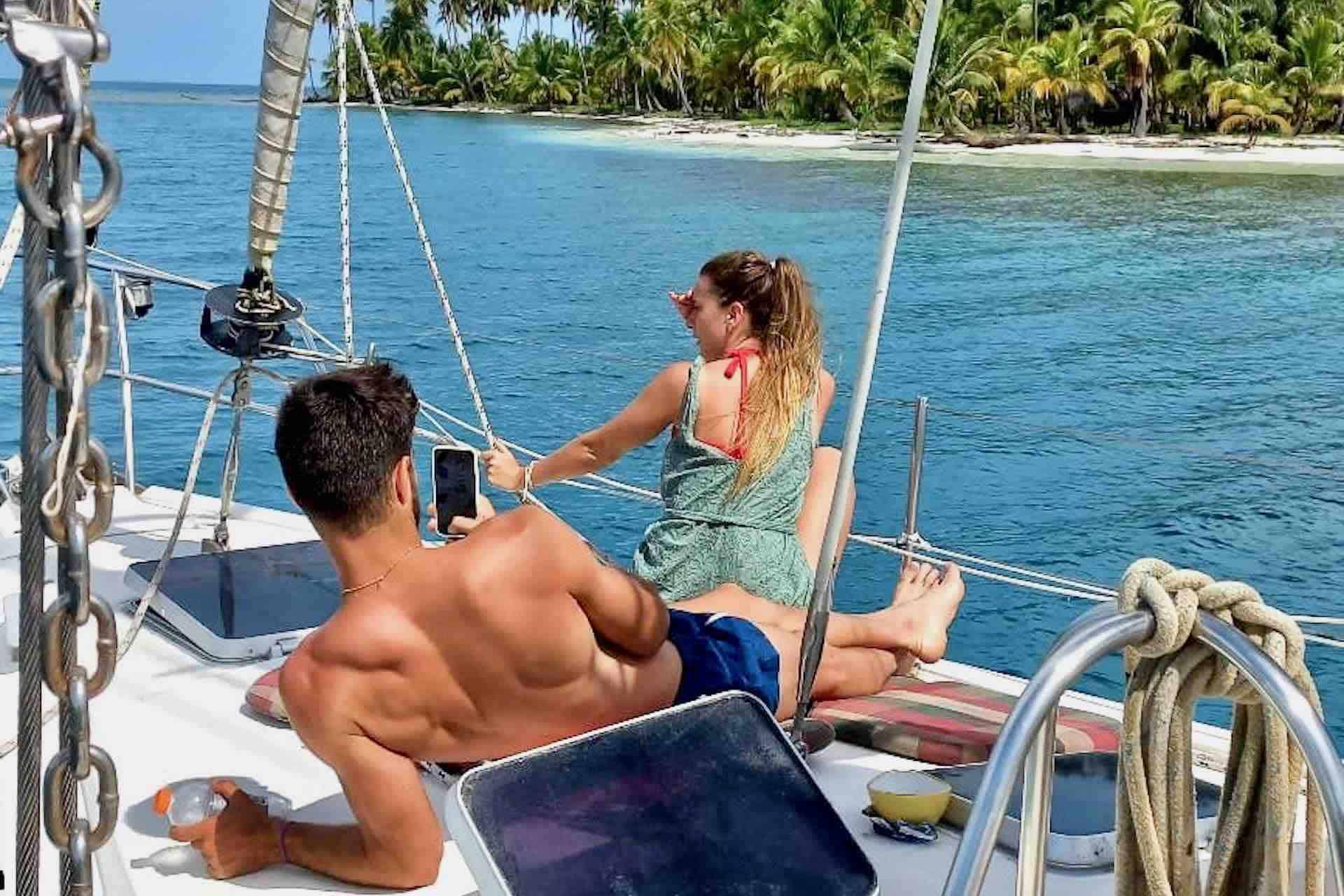 San Blas sailboat guests