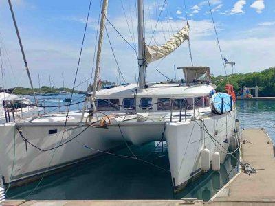 catamaran San Blas charter